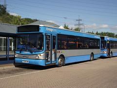 731 (Y331FJN) 20-09-2013 NIS LSD.2 (routemaster2217) Tags: bus transport shoppingcentre lakeside singledecker dennisdart lowfloorbus ensignbus alexanderalx200 intulakeside