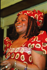 Gifty NaaDK from Ghana Etome Vocalist at the Africa Centre London March 2001 052 (photographer695) Tags: gifty from ghana africa centre mar 2001 sophie dancing naadk etome vocalist london march