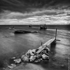 / (Carlos J. Teruel) Tags: longexposure sunset espaa cloud atardecer boat spain nikon mediterraneo barco paisaje murcia le nubes fx marmenor marinas filtros 2470 polarizador hitechfilter xaviersam singhraynd3revgrad carlosjteruel d800e