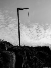 The Gallows (wuwei2012) Tags: blackandwhite bw sweden orebro gallows execution rebro nrke glanshammar saseger 20130515201305161502