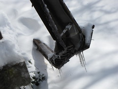 Destroyed gutter (SchuminWeb) Tags: county houses roof winter house snow storm building ice weather silver buildings spring md apartments apartment ben web hill snowstorm maryland roofs icicle montgomery gutter february icy aspen damaged snowfall storms blizzard destroyed icicles crushed 2010 noreaster crumpled collapsed snowfalls snowstorms blizzards rooves gutters aspenhill snowpocalypse snowmageddon schumin schuminweb