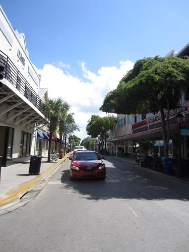 Duval Street. Fast Buck Freddie's closed!
