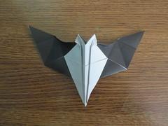 Vampire Bat (41) (origamiguy1971) Tags: origami vampire bat step fold esseltine origamiguy origamiguy1971 stepfolds
