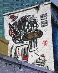 5Pointz Mural by The Yok & Sheryo (wiredforlego) Tags: nyc streetart ny newyork graffiti mural urbanart queens 5pointz theyok sheryo