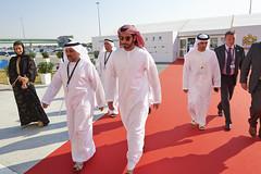 Sheikh Zayed_4 (J Graphic & Digital Design) Tags: smiling walking al tour group exhibition bin zayed khalifa conference handshake sultan greeting sheikh redcarpet nahyan oilindustry royaltour adipec