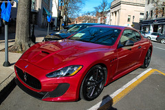 Red MC (Rivitography) Tags: red canon rebel italian greenwich fast mc adobe t3 expensive maserati stradale lightroom granturismo 2013 connectiut rivitography