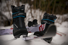 2013: 339/365 (runningman1958) Tags: winter ski nikon boots poles 365 wintersport skipoles skiboots crosscountryskis 365dayproject backcountryskis d3100 d3100nikon