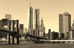 new Skyline (Rosalie298) Tags: newyorkcity usa newyork skyline america manhattan worldtradecenter brooklynbridge wtc