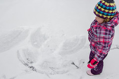 Sled Riding 2013-24 (TheDarrenSharp) Tags: winter evelyn 3yearsold sledriding