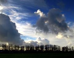 Stormy Skies over Preston (Tony Worrall) Tags: park trees sky clouds wow scenery northwest cloudy stormy row lancashire ashton haslampark ashtononribble 2013tonyworrall