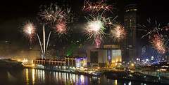 2014  (Photoshopped edition) (zong_yu0123) Tags: port harbour taiwan newyear keelung