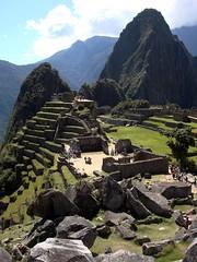 (marcwiz2012) Tags: mountain peru southamerica inca stone landscape ancient ruins terrace stonework icon andes machupicchu precolumbian historicsite