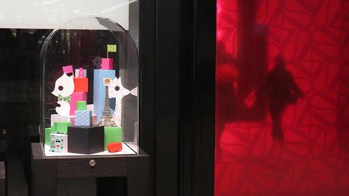 Interventions artistiques par Stéphanie Moisan à Italie 2 - Paris, septembre 2013