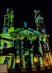 Lightpaint @ Amsterdam (Butter Monkey) Tags: travel light holland netherlands amsterdam night nikon europe paint thenetherlands projection vacations d3100 hdw2014