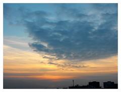 Pastel-coloured winter sunset (Stella VM) Tags: sunset sky sun colour beautiful clouds sofia bulgaria