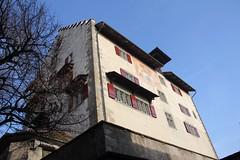 Perspektive von der Landenberggasse (Poesia's Picture's) Tags: winter schweiz switzerland februar spaziergang 2014 greifensee nnikon