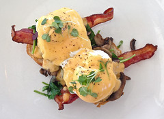 Eggs Benedict at the Restaurant at the Getty Center - Los Angeles, CA (ChrisGoldNY) Tags: chrisgoldny chrisgoldberg chrisgold chrisgoldphotos chrisgoldphoto licensing forsale albumcover albumcovers bookcover bookcovers posters poster losangeles losangelescounty laist california southerncalifornia socal america usa friendlychallenges challengewinners thechallengefactory food breakfast