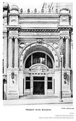 National Savings Bank  Lower state st  1918  albany ny early 1900s (albany group archive) Tags: national savings bank lower state st 1918 albany ny early 1900s oldalbany history old vintage photos historic historical