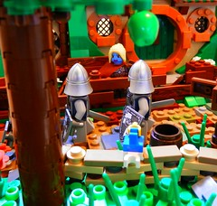The Home of Thorne Babblebrook - WIP (jgg3210) Tags: white castle classic home order lego wip medieval well knights crown drow minifigure moc thorne minifigures galacia classiccastle babblebrook willowstone