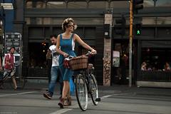 Brunswick Street (Ranga 1) Tags: girl bike canon candid fitzroy australian streetphotography australia melbourne streetscene victoria explore suburbs cinematic brunswickstreet davidyoung innersuburbs innermelbourne ef24105mmf4lusm canoneos5dmarkii
