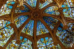 skylight (Jordi Pay Canals) Tags: barcelona art glass st architecture canon hospital ceramic eos is modernism catalonia canals creu usm nouveau jordi pau efs sta llus montaner domnech 450d 1585mm pay