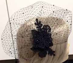 VEIL NAVY BLACK 2 (askysewblue) Tags: veil embroidery utgallery urbanthreads askysewblue