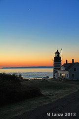 Dawn Breaks at West Quoddy Head (mlanza) Tags: county autumn lighthouse fall sunrise dawn maine quoddyhead westquoddy manannew easternmost newenglandgrand brunswickcanadadowneastwashington