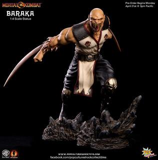真人快打9變異狂戰士「巴拉卡」1/4雕像推薦