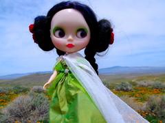 Princess Ozma of Oz in the Poppy fields