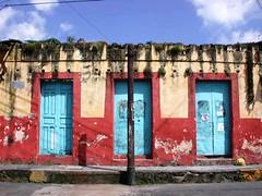 Blue doors - Mexico (ashabot) Tags: blue mexico doors cities citystreets