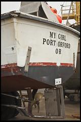 Port Orford #3 (hamsiksa) Tags: ocean beach fog oregon coast fishing rocks newport pacificnorthwest bandon seastacks commercialfishing portorforddriftwood