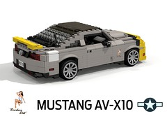 2010 Ford Mustang 'AV-X10 Special Edition' - Detroit Doll (lego911) Tags: auto ford car plane airplane model fighter lego render aircraft aviation wwii north aeroplane american merlin ww2 mustang bomber usaf coupe challenge cad sportscar 79 lugnuts 2010 povray v12 p51 p51d moc wingnuts ldd miniland s195 foitsop lego911 avx10 detroitmiss lugnutsgoeswingnuts detroitdoll