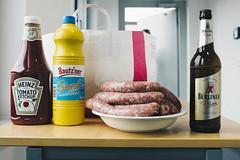 Company BBQ (der_scholt) Tags: beer sausage bbq bier wurst grillen berliner senf pilsener heinztomatoketchup bautzner vsco
