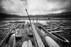 Tamblingan (Randi Ang) Tags: bw bali lake black monochrome canon indonesia landscape eos long exposure 5d whit ang randi bedugul tamblingan buleleng