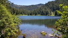 Our hike destination - Deer Lake
