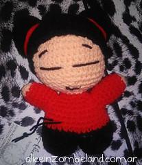 PUCCA (Diana Queenie) Tags: crochet amigurumi pucca handcraft haken croche hkeln virka virkkaus croch ganchillo hkling yarnlove hekle amigurumis unicinetto tigisi yarnaddict horgols gantsilyo virkka hckovn heklati