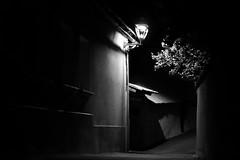 pas encombr (glookoom) Tags: bw monochrome night noiretblanc lumire contraste nuit