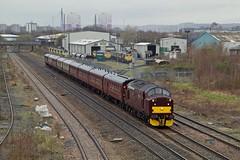 37706 @ Pepper Road, Leeds (TheRosyMole) Tags: 37706 leeds yorkshire railway railroad westcoastrailways hunslet westcoastrailway