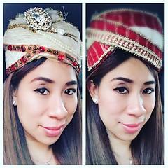 คุงแม่ไม่ได้ไปดูไบ ส่งคุณชายกับน้องชายไปแทน ขอแอบเอาหมวกมาลองใส่ก็ยังดี555 อันไหนของใครทายสิ??? #AeFreedomLife #BoonkLuckyMan