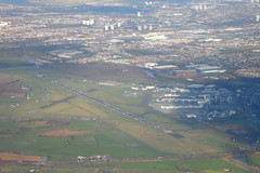 Glasgow International Airport (EGPF/GLA) (Fraser Murdoch) Tags: glasgow international airport egpf gla aerial photography cranfield university jetstream 31 gnfla renfrew paisley renfrewshire fraser murdoch flight testing test experiment cfd01b aeronautical meng course