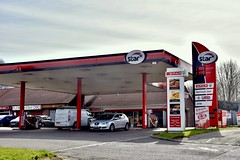 Star, New Buildings County Derry. (EYBusman) Tags: star petrol gas gasoline filling service station garage new buildings county londonderry derry northern ireland spar eybusman texaco nicholls