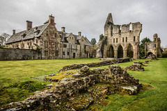 QDEH-1-2 (Michael Yule - I Can See For Miles) Tags: wenlock priory much shropshire england buildings church ruins remains monastry landscape nikon d7100 sigma 1020 arch muchwenlock
