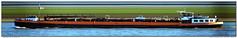 Gulf Antwerpen (Morthole) Tags: slitscan ship boat schip boot barge binnenvaart schiff rheinschiff gulfantwerpen liquidbarge tanker