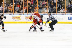 "Missouri Mavericks vs. Allen Americans, March 10, 2017, Silverstein Eye Centers Arena, Independence, Missouri.  Photo: © John Howe / Howe Creative Photography, all rights reserved 2017 • <a style=""font-size:0.8em;"" href=""http://www.flickr.com/photos/134016632@N02/33023731880/"" target=""_blank"">View on Flickr</a>"