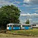 Wendefahrt für den Düwag-Wagen 107 am Gara Aradul Nou
