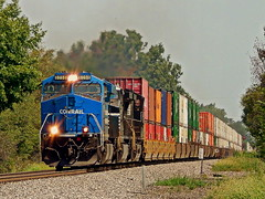 Conrail heritage unit at Spencerville Indiana (Matt Ditton) Tags: spencerville indiana train conrail summer