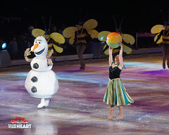 Princess Anna & Olaf - Summer (DDB Photography) Tags: disney disneyonice ice waltdisney disneyphoto disneypictures disneycharacters followyourheart mickey mickeymouse minnie minniemouse mouse feldentertainment donaldduck duck goofy figure skate figureskate show iceshow prince princess princesses castle animation disneymovie movie animatedmovie fairytale story anna elsa elsathesnowqueen olaf kristoff sven hans princehans arendelle frozen loveisanopendoor letitgo