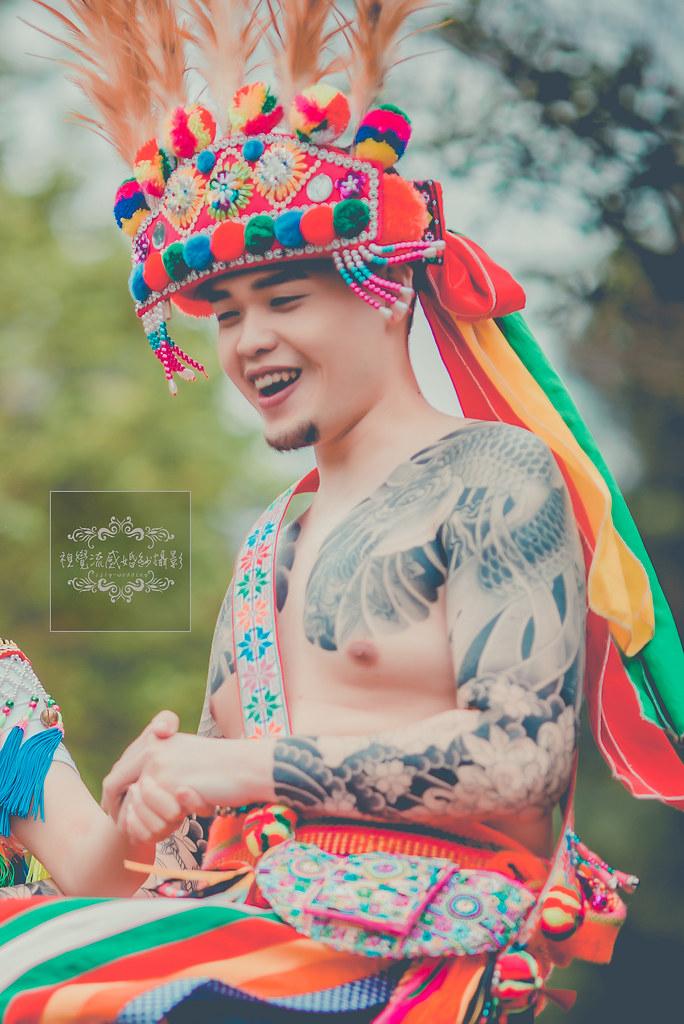 中和婚紗攝影,阿美族婚紗,傳統服拍婚紗,視覺流感,民族風婚紗