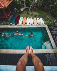 Canggu villa (matsandersen) Tags: canggu bali surfboard boardporn
