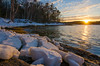 freeport (paul noble photography) Tags: paulnobleimages paulnoblephotography nikon newengland noble 1224f4 freeportmaine freelancephotographer reflections reflection sunset water clouds maine vacationland visitmaine vacation winter